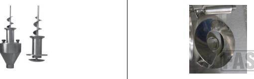Опции к шнековому дозатору